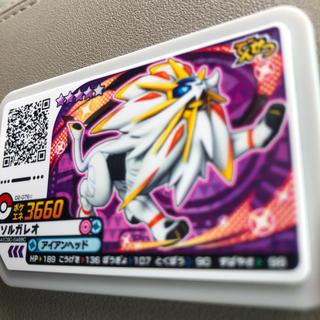 ポケモン(ポケモン)の星4 ソルガレオ D2 ポケモンガオーレ(その他)
