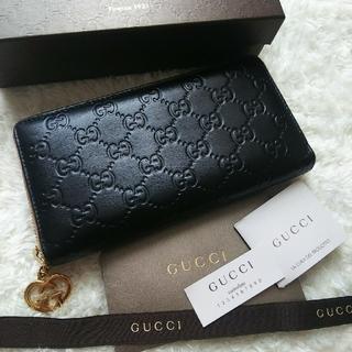 Gucci - 【美品】 GUCCI グッチ ラウンドファスナー長財布
