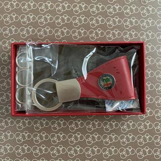 アルファロメオ(Alfa Romeo)のALFA ROMEO アルファロメオ レザーキーホルダー (キーホルダー)