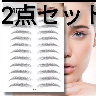 眉タトゥーとアイシャドウの2点セッ、6D眉、眉マスカラアイブロウペンシル要らない(眉マスカラ)