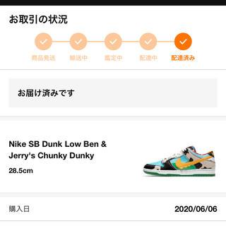 ナイキ(NIKE)のBEN&JERRY'S × NIKE SB DUNK LOW(スニーカー)
