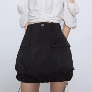 ZARA - 【タグ付き】ZARA ポケット付き ミニスカート