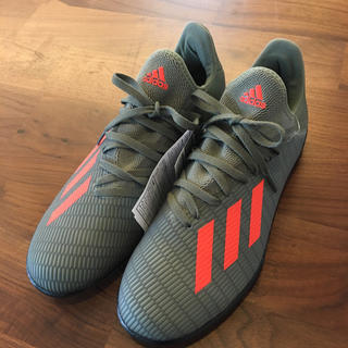adidas - アディダス トレーニングシューズ 新品 サッカー24.5cm