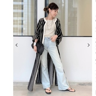 L'Appartement DEUXIEME CLASSE - Lyria Stripe Gawn