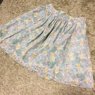 ロペピクニック(Rope' Picnic)のロペピクニック 花柄スカート(ミニスカート)