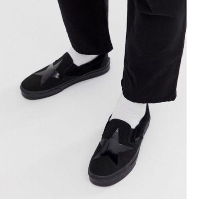 VANS(ヴァンズ)の【新品】VANS×David Bowieバンズ SLIP-ONデヴィッド・ボウイ メンズの靴/シューズ(スニーカー)の商品写真