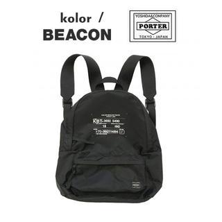 カラー(kolor)の【kolor BEACON × PORTER】新品 バックパック・リュック(バッグパック/リュック)