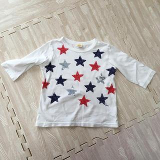 ムージョンジョン(mou jon jon)のムージョンジョン 男児7分丈Tシャツ 110㌢(Tシャツ/カットソー)