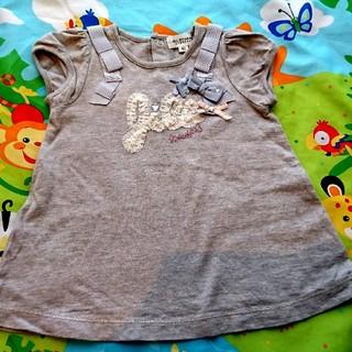 ジルスチュアートニューヨーク(JILLSTUART NEWYORK)のジルスチュアート JILLSTUART80 Tシャツ チュニック ワンピース (Tシャツ)