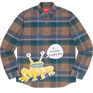 シュプリーム(Supreme)の【専用】Supreme Daniel Johnston Plaid Shirt (シャツ)