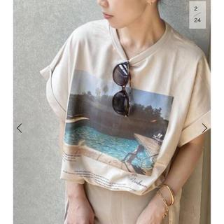 Plage - plage JANE SMITH ジェーンスミス SP PHOTO Tシャツ