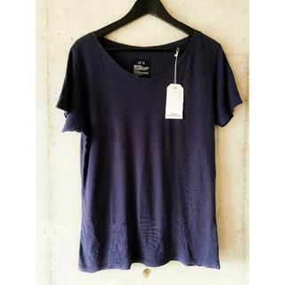 ベドウィン(BEDWIN)のタカ様専用 bedwin ベドウィン Vネック Tシャツ 紺 No.2  (Tシャツ/カットソー(半袖/袖なし))