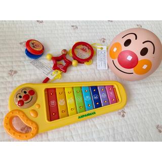 アンパンマン(アンパンマン)のアンパンマン 鉄琴 メロディボール セット(楽器のおもちゃ)