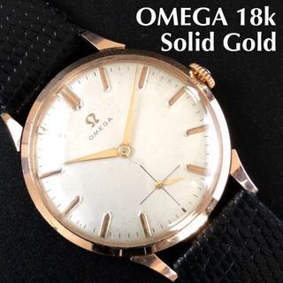 オメガ(OMEGA)の即購入OK★煌めく18k金無垢★オメガ/OMEGA/Ref.2499-1/手巻き(腕時計(アナログ))