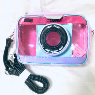 WEGO - WEGO のカメラ型 2wayショルダーバッグ or ポーチ🍀