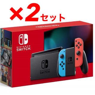 Nintendo Switch - Nintendo Switch 本体 ネオンブルー/ネオンレッド