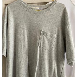 ジーユー(GU)の無地Tシャツ(Tシャツ(半袖/袖なし))