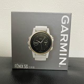 GARMIN - 【新品】ガーミン fenix5S Sapphire Champagne Gold