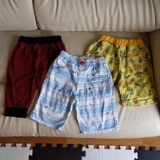 Branshes - ハーフパンツ 半ズボン  3枚セット/110 ブランシェス・丸高衣料