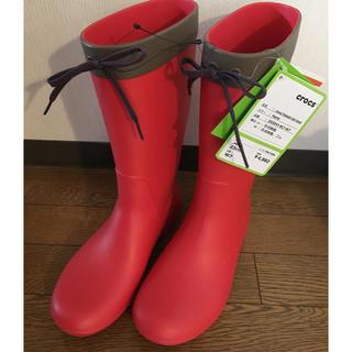 クロックス(crocs)の新品 クロックス レインブーツ(レインブーツ/長靴)