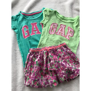 ギャップキッズ(GAP Kids)のGAPキッズ Tシャツ スカート セット(Tシャツ/カットソー)