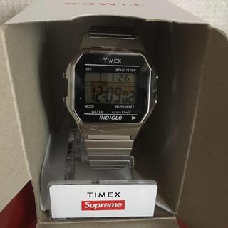 Supreme - Supreme TIMEX WATCH SILVER タイメックス 時計