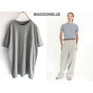マディソンブルー(MADISONBLUE)の定番 マディソンブルー 2017SS ポケットTシャツ 2/M(Tシャツ/カットソー(半袖/袖なし))