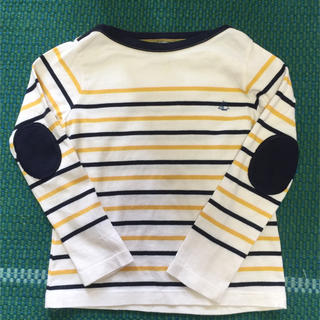 PETIT BATEAU - プチバトー  長袖 ボーダー Tシャツ 6ans 116cm