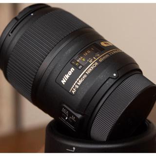 ニコン(Nikon)のNIKON AF-S Micro NIKKOR 60mm f/2.8G ED(レンズ(単焦点))