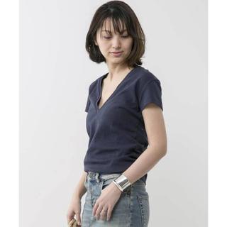 ドゥーズィエムクラス(DEUXIEME CLASSE)のMADISONBLUE DEEP V NECK Tシャツ(Tシャツ(半袖/袖なし))