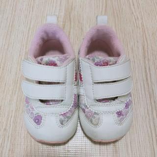 asics - アシックス 花柄 靴/スニーカー 13cm