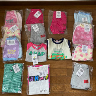 アナップキッズ(ANAP Kids)のアナップ 14点セット 新品未使用(Tシャツ/カットソー)