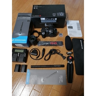 Panasonic - 付属品多数!GH5 レンズ,マイクセット,バッテリー2つ