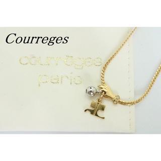 クレージュ(Courreges)の【U428】Courreges クレージュ ロゴ ネックレス ハンド (ネックレス)