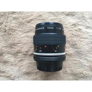 ニコン(Nikon)の〈8/11まで〉Nikon Micro-Nikkor 55mm 2.8(フィルムカメラ)