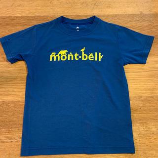 mont bell - モンベル キッズTシャツ ブルー130