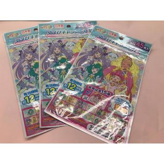 バンダイ(BANDAI)の虫よけキャラシール★プリキュア45枚x3袋(その他)