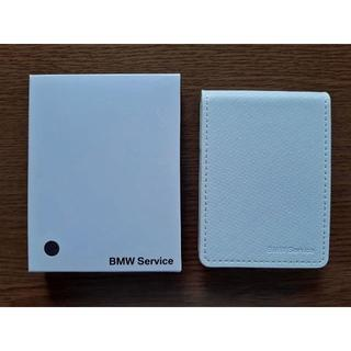 ビーエムダブリュー(BMW)の非売品 純正 BMW  ノベルティーメモ帳 未使用品 送料無料 (折り財布)