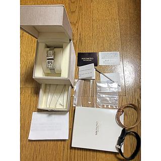 ミキモト(MIKIMOTO)のミキモト コルチフォーム Wトゥール クォーツ  レディース 腕時計 SS(腕時計)