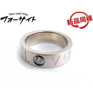 カルティエ(Cartier)のカルティエ■2006年 クリスマス限定 K18 WG ラブリング(リング(指輪))