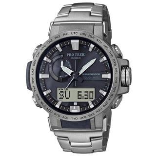 カシオ(CASIO)のカシオ プロトレック PRW-60T-7AJFトリプルセンサー Ver.3(腕時計(デジタル))