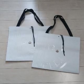 モンクレール(MONCLER)のMONCLER紙袋  2枚セット(ショップ袋)