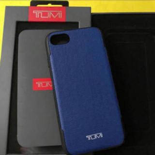 トゥミ(TUMI)の【新品】【即発可】 TUMI iPhone 7/8 コーテッドキャンバス (iPhoneケース)