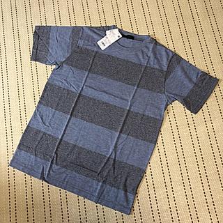 ナノユニバース(nano・universe)のナノユニバース ボーダーTシャツ 新品 未使用(Tシャツ/カットソー(半袖/袖なし))