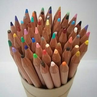 ムジルシリョウヒン(MUJI (無印良品))の無印良品 色鉛筆 60色セット(色鉛筆)