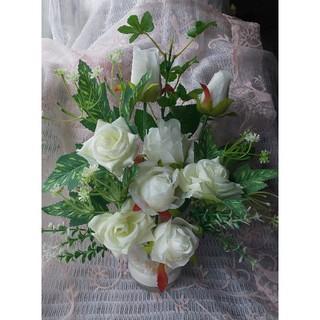 無垢な白薔薇  フラワーアレンジメント(その他)
