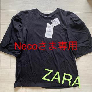 ZARA - ZARA 黒半袖Sサイズ