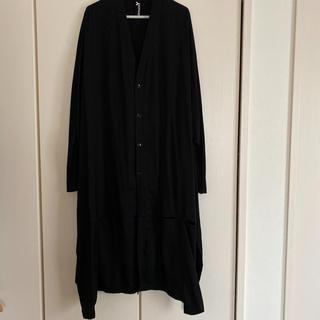 ヨウジヤマモト(Yohji Yamamoto)のヨウジヤマモト グラウンドY アシンメトリーワンピース(Tシャツ/カットソー(七分/長袖))