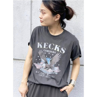 ドゥーズィエムクラス(DEUXIEME CLASSE)のAP STUDIO 【GOOD ROCK SPEED】イーグルプリント Tシャツ(Tシャツ(半袖/袖なし))
