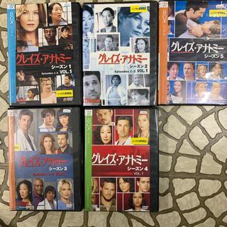 DVDグレイズアナトミー 1〜5(TVドラマ)